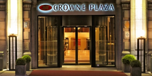 Crowne Plaza Brussels – Le Palace Ranked in the top 50 Meeting Hotels in Europe